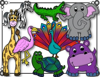 Ultimate Zoo Fieldtrip Graphic Set