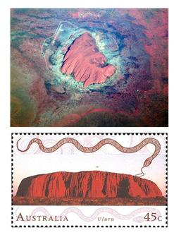 Uluru (Ayers Rock) - Australia Word Search