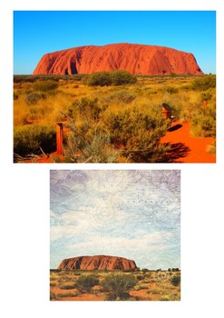 Uluru (Ayers Rock) - Australia Word Search