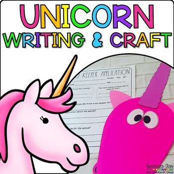 Ulyssa the Unicorn { Animal Craftivity and Writing Prompts! }
