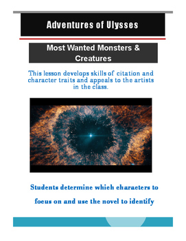 Ulysses Most Wanted Monsters and Creatures