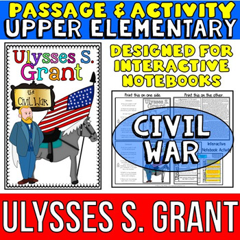 Ulysses S. Grant: Biography Reading Passage: Civil War