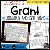 Ulysses S. Grant: Biography, Timeline, Graphic Organizers, Text-based Questions