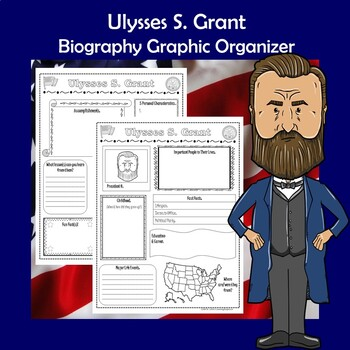 Ulysses S. Grant President Biography Research Graphic Organizer