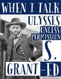 Ulysses S. Grant Social Studies Classroom Poster