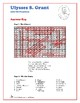 Ulysses S. Grant - Word Search and Fill in the Blanks