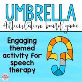 Umbrella Articulation Board Game!
