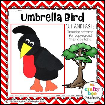 Umbrella Bird Craft