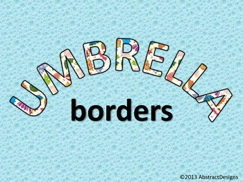 Umbrella Border