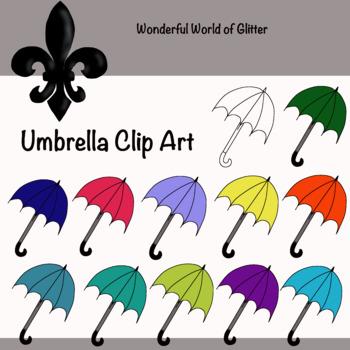 Umbrella Clip Art