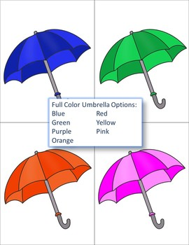 Umbrella Color Matching