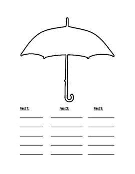 Umbrella Graphic Organizer