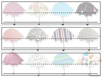 Umbrella Name Plates