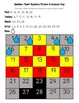 Umbrella Rain Drops April Early Math (Numbers 1-30) Number Chart Mystery Picture