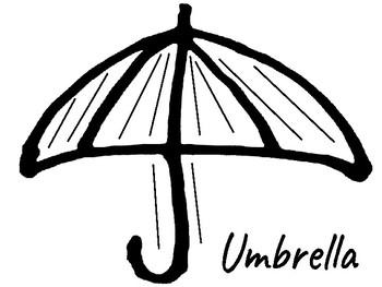 Umbrella Shape Poetry