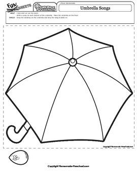 Umbrella Songs Music Time