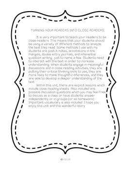 Umbrella Summer-Common Core aligned novel study - recently revised!