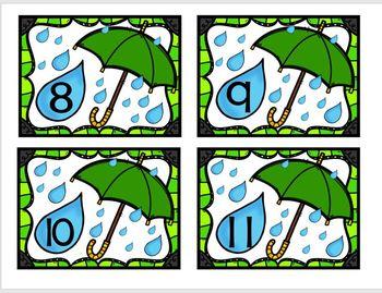 Umbrella Unit (Literacy and Math Activities)