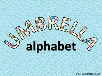 Umbrella Word Wall Tags