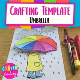 Umbrella Writing Prompt - Crafting Template