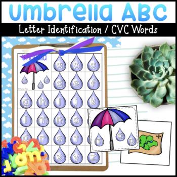 Umbrella abc | Letter Match | CVC Words