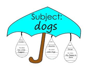 Umbrella and Raindrops Library Catalog Assessment