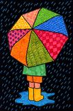 Umbrella with Patterns