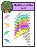 Umbrellas and Frame Pack - Clip Art