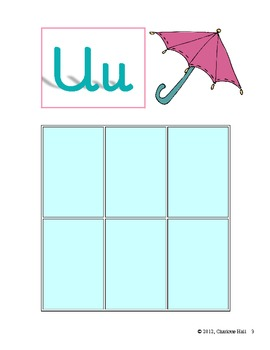 Umbrellas and Unicorns: Letters, Sounds, Words - Uu