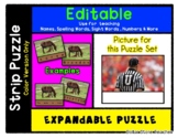 Umpire / Referee - Expandable & Editable Strip Puzzle with