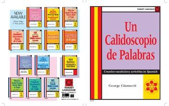 Un Calidoscopio de Palabras-Creative vocabulary activities in Spanish