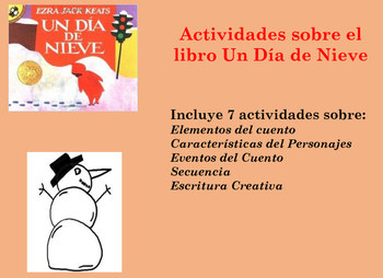 Un Dia de Nieve/ A Snowy Day Activities