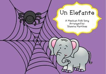 """""""Un Elefante"""" a Mexican Folk Song (first grade)"""