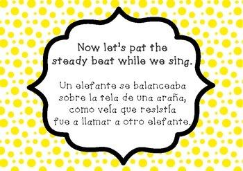 """""""Un Elefante"""" a Mexican Folk Song (second grade)"""