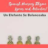 Un Elefante Se Balanceaba- Lyrics and Song Activities