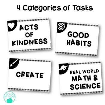 UnHomework -  40 Weekly Tasks to Promote Kindness, Good Habits, and Creativity