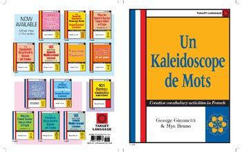 Un Kaleidoscope de Mots-Creative vocabulary activities in French
