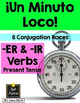 Minuto Loco - Er & Ir Verbs in Present Tense Conjugation G