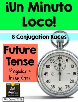 Minuto Loco - Future Tense - El Futuro - Conjugation Games - Standard Size
