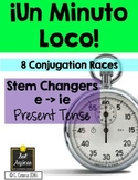 Minuto Loco - Stem Changing Verbs E - IE in Present Tense - Standard Size