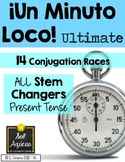 Minuto Loco - ALL Stem Changing Verbs Present Tense - Ultimate Size""