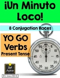 Minuto Loco - Yo Go Verbs Conjugation Practice Games - Standard Size