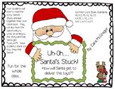 Uh-Oh...Santa's Stuck