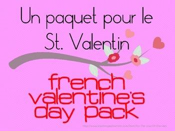Un Paquet pour le St. Valentin (French Valentine's Pack)