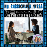Project Based Learning: No Prep! Un Puesto en La Clase Avanzada*Curriculum Vitae