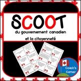Un Scoot du gouvernement canadien et la citoyennete