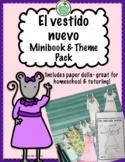 Un Vestido Nuevo Minibook + Paperdolls ACTIVITY PACK Spani