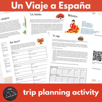 Un Viaje a España - Internet activity unit