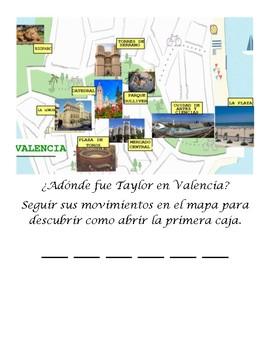 Escape Room : Un Viaje a Valencia (Breakout/Lock Box Activity)