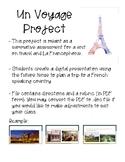 Un Voyage Project & Rubric